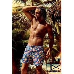 Цветочные пляжные шорты David DM7-005 48(M) Цветной David DM7-005 - купить в магазине Amarea интернет-магазин по цене 1046.25 грн.