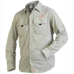 Рубашка Norfin FOCUS серая мужская S - купить в магазине Рыболовный интернет магазин Кормак по цене 1542 грн.
